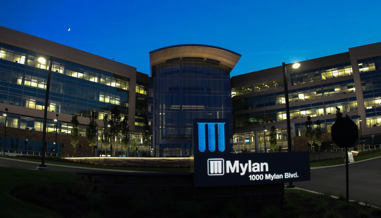 LED Lighting Controls & Fixtures - Mylan Headquarters Pittsburgh, PA