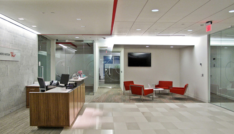 LED Lighting Controls & Fixtures - Towers Watson Pittsburgh, PA