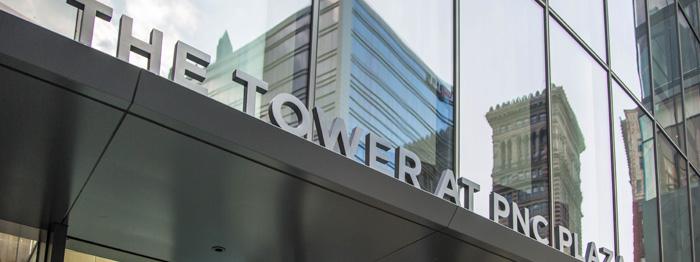 PNC tower led lighting
