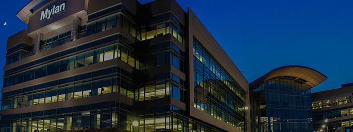 Mylan headquarters lighting controls in Pittsburgh