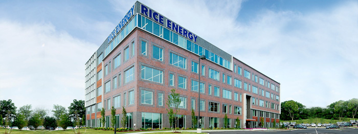 rice energy lighting building in Canonsburg, PA